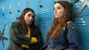 Beanie Feldstein as Molly and Kaitlyn Dever as Amy in Booksmart. Photograph: Francois Duhamel/Annapurna Pictures