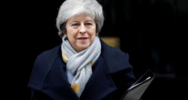 Britain's prime minister Theresa May is on the verge of quitting, according to speculation. Photograph: Peter Nicholls/Reuters