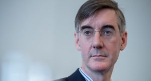 "Jacob Rees-Mogg: his book on 12 Victorians   is described  as ""a dozen clumsily written pompous schoolboy compositions"". Photograph: Bloomberg"