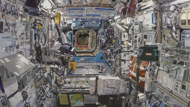 Colin Martin's Space Station: on display at Royal Hibernian Academy, 15 Ely Place, until August 10th.