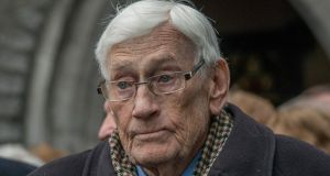 "Seamus Mallon suggests a united Ireland could be achieved on a ""parallel consent"" principle with consent from parties representing both traditions. Photograph: Brenda Fitzsimons"