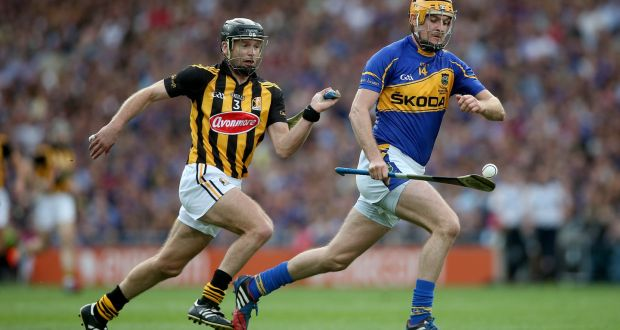 Seamus Callanan of Tipperary and  Kilkenny's  JJ Delaney  during the All-Ireland final replay in 2014.  Every man was going to do a proper man-marking job that day. If air or light could get between you and your man you weren't tight enough.  Photograph: Donall Farmer/Inpho