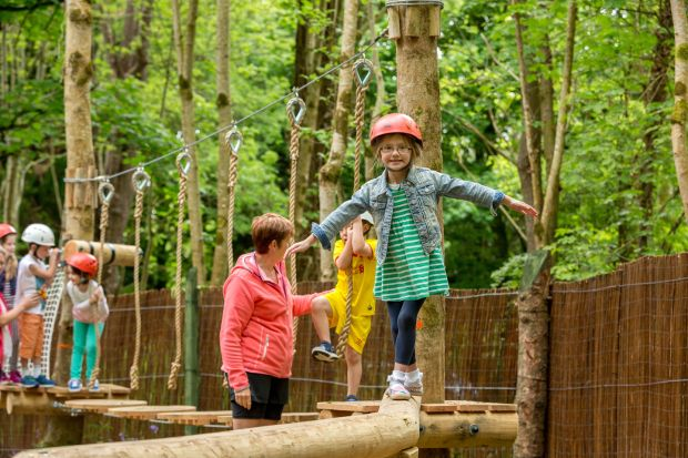 A trip to the Castlecomer Discovery Park can be educational as well as active.
