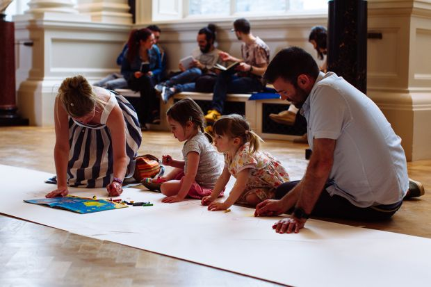 Young and old alike can get in touch with their creative sides at the National Gallery.