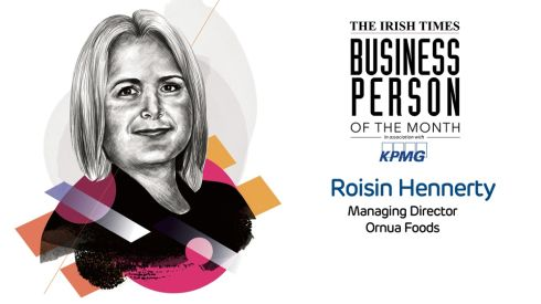 'The Irish Times' Business Person of the Month: Roisin Hennerty