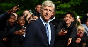 Former Arsenal's manager Arsène Wenger: he feels for supporters who have abandoned hope of attending the final because travel has proved so expensive. Photograph: Getty Images