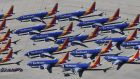 Southwest is the world's largest Boeing 737 Max operator with 34 jets. Photograph: Mark Ralston/AFP/Getty Images