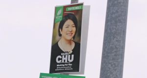 Hazel Chu of the Green Party: 'No matter what I do I will never be Irish to some people.' Photograph: Nick Bradshaw