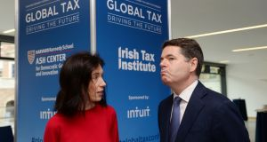 Minister for Finance Paschal Donohoe expressed serious reservations over separate proposals supported by some countries to introduce a minimum effective corporate tax rate