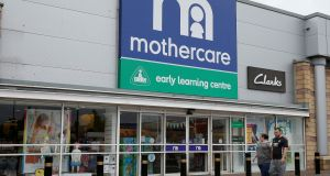 Mothercare said it will now focus on rebuilding its brand. Photograph:  Andrew Yates/Reuters