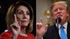 Trump and Pelosi in war of words over 'temper tantrum' accusation