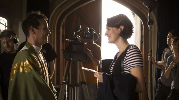 Making Fleabag: 'We're both very romantic and have a light attitude toward sex and ownership,' Andrew Scott says about Phoebe Waller-Bridge. Photograph: Luke Varley/Two Brothers/BBC