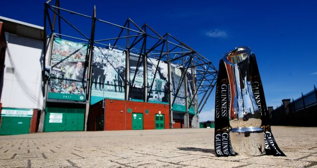 This weekend Glasgow Warriors and Leinster will go toe-to-toe in the Pro14 final at Celtic Park. Photograph: James Crombie/Inpho