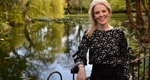 Sarah Crossan:  won the Carnegie Medal in 2016 for her verse novel, One. Photograph: Dara Mac Donaill