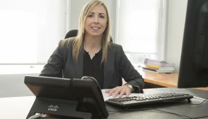 "Data Protection Commissioner Helen Dixon  in her Fitzwilliam Square offices. Dixon wants to extend her role into a second five-year term when her current one ends in September ""to continue out the work that we have started"". Photograph: Dave Meehan"