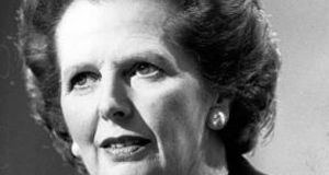 Margaret Thatcher: the bond she cultivated with the US was paralleled by a destructive disdain for Europe. Photograph: Getty Images
