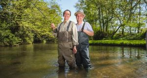 Carp-e diem: Paul Whitehouse and Bob Mortimer