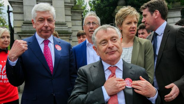 The local elections are a big test of Brendan Howlin's efforts to revive the fortunes of the Labour Party. Photograph: Gareth Chaney/Collins