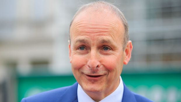 Fianna Fáil, led by Micheál Martin, will hope to maintain its position as the largest party in local government and to make further progress in and around Dublin. Photograph: Gareth Chaney/Collins