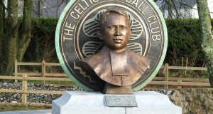Commemorative bronze bust and sculpture of Brother Walfrid in his birthplace of Ballymote, Co Sligo
