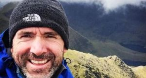 "Séamus Lawless is said to have slipped while in the ""Balcony area"" near the summit of Everest"