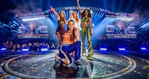 The Spice Girls on stage at Croke Park in Dublin. Photograph: Andrew Timms/PA Wire