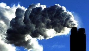A coal fired plant generating power. Photograph: John Giles/PA Wire