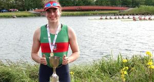 Molly Curry: the Coleraine Grammar School pupil took gold in the Girls' Championship Single for the Internationals Cup on Saturday at Dorney Lake, Buckinghamshire, England.