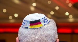 Germany's top official responsible for efforts against anti-Semitism  has suggested that Jews should not always wear their skullcaps in public. Photograph: Frank Rumpenhorst/AFP/Getty Images