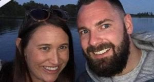 Irishman John Heneghan (33) and his wife Caitlyn Holtzman (32) were killed in the crash on Saturday. Photograph: via Facebook