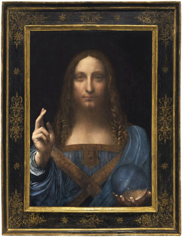 Salvator Mundi: 'Not many curators think this picture is an autograph Leonardo da Vinci,' says the art historian Ben Lewis. Photograph: Christie's