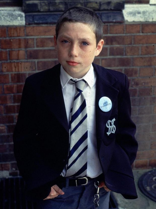 Grange Hill: Lee MacDonald as Zammo McGuire. Photograph: BBC
