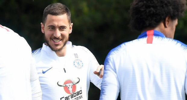 Eden Hazard determined to finish his Chelsea career on a high