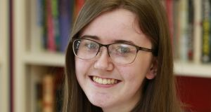 Amy Cahill: 'Sometimes teachers jump to criticise something written by a student, instead of appreciating it.' Photograph: Nick Bradshaw, for The Irish Times