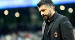 Gennaro Gattuso has announced he is to leave his role as AC Milan boss. Photograph: Serena Campanini/EPA