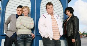 Gavin & Stacey: Mathew Horne, Joanna Page, James Corden and Ruth Jones. Photograph: BBC