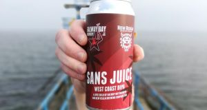 Double IPA: Galway Bay has made its 9-per-cent-alcohol Sans Juice with New Realm