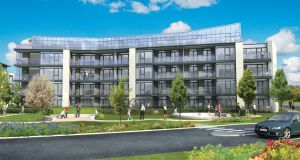 The 204 apartments at the Fairway scheme are scheduled for completion by February 2020
