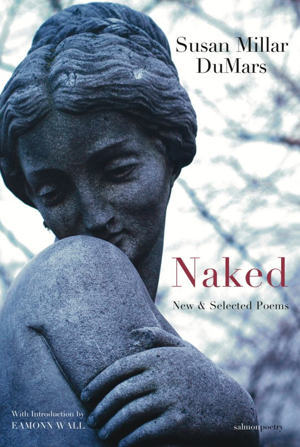 What I love about the female statue that is on the cover is that, in her expression, we get the quality of emotional nakedness, too. She hovers between modesty and pride.