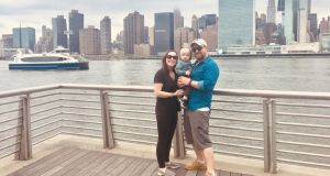 Suzie Blaney, Patrick Coyle and Blaney Coyle in Manhattan