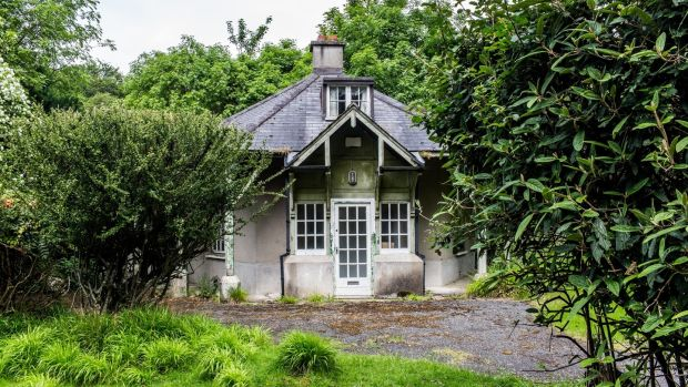 Rose Cottage in the Phoenix Park. Photograph: James Forde