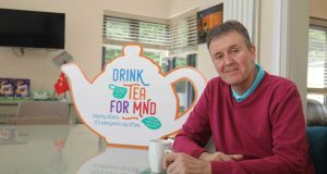 Roy Taylor is this year's Drink Tea for MND ambassador. In 1988, he represented Ireland in the Eurovision with his band Jump the Gun. They came eighth with the song 'Take Him Home'. However, just over a year ago he received the stark diagnosis of motor neurone disease.