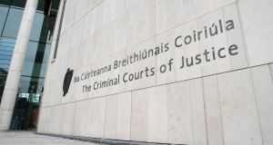 The growth in victims of crime using the Victim Support at Court (VSAC) service was entirely driven by courts outside the Criminal Courts of Justice (CCJ) in Dublin. File photograph: Dave Meehan/The Irish Times.