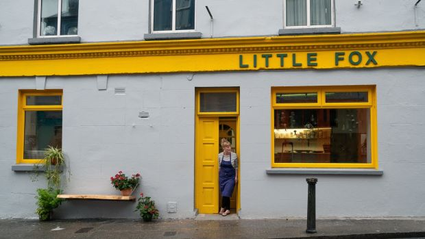 Little Fox, in Ennistymon: Niamh Fox and her team love showcasing local ingredients. Photograph: Alison Derham