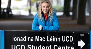 Last September Rebecca  Carter won her High Court case aimed at forcing the commission to rectify an error in the totting up of her Leaving Certificate marks before UCD closed its admissions for 2018. Photograph: Tom Honan/ The Irish Times