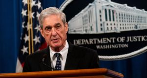 Robert Mueller's preference not to testify obviously does not preclude a House committee from issuing a subpoena to force him to appear. Photograph: Doug Mills/New York Times