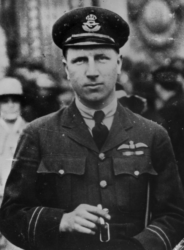 John Alcock (1892 - 1919) in uniform. Photograph: Hulton Archive/Getty Images