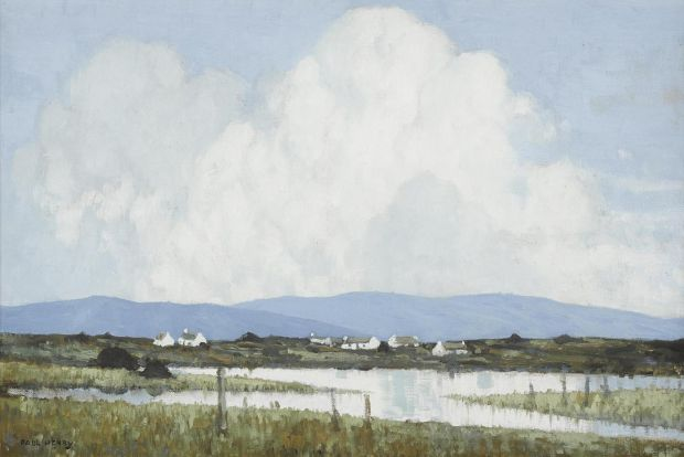 'Western Landscape' by Paul Henry achieved €100,000 through Whyte's.