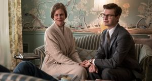 The Goldfinch. Nicole Kidman and Ansel Elgort in John Crowley's film of the Donna Tartt novel