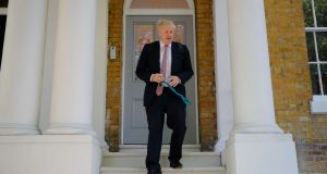 Conservative MP Boris Johnson leaves a house in London on May 30, 2019. In truth, Mr Johnson's great wheeze amounts to nothing more than a pledge that Britain will crash out in October. TOLGA AKMEN/AFP/Getty Images